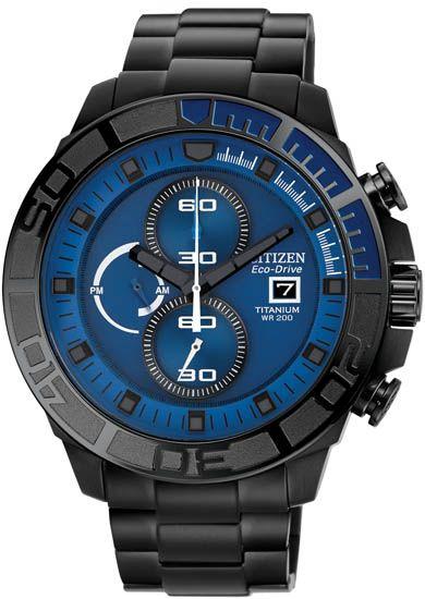 CA0525-50L - Authorized Citizen watch dealer - MENS Citizen TITANIUM CHRONOGRAPH, Citizen watch, Citizen watches