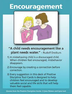 Positive Discipline Cards by Jane Nelsen and Lynn Lott