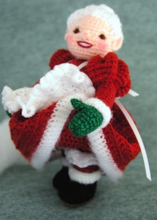 Mrs Santa Claus Doll