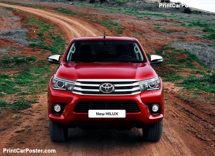Toyota HiLux 2016 poster, #poster, #mousepad, #tshirt, #printcarposter