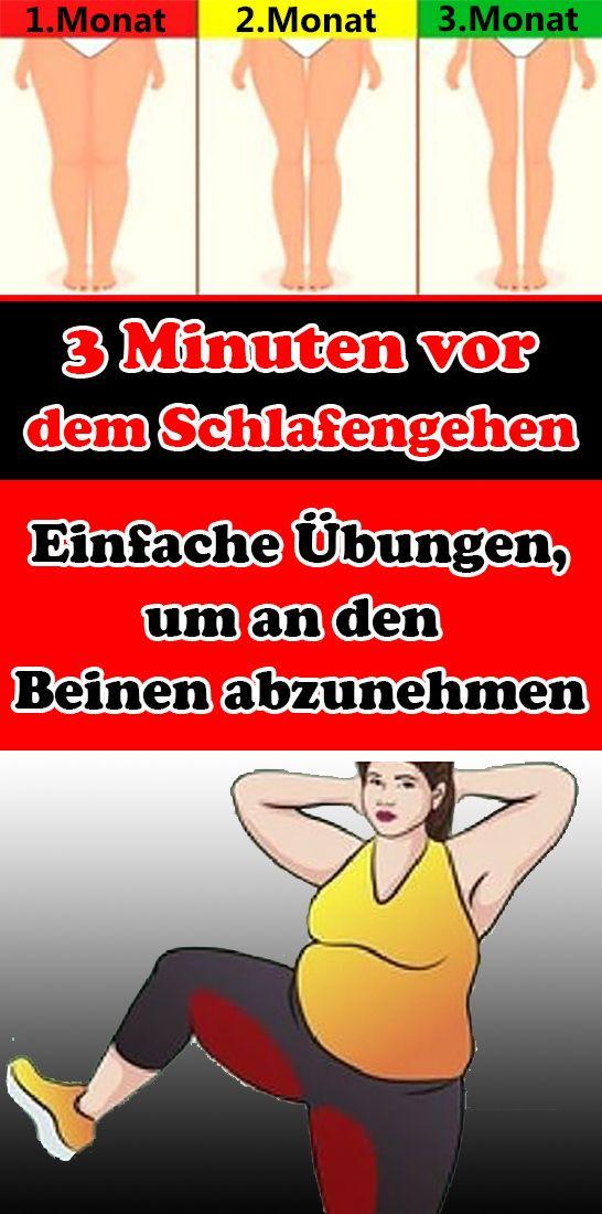 3 Minuten vor dem Schlafengehen: Einfache Übungen, um an den Beinen abzunehmen – Silvia Schönauer