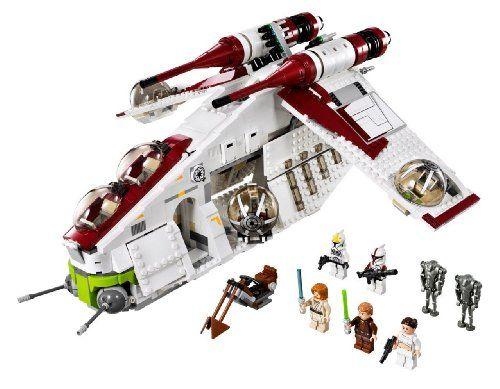 LEGO Star Wars Republic Gunship (75021)  http://www.bestdealstoys.com/lego-star-wars-republic-gunship-75021/