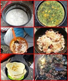 Best Backpacking Recipes - a TON of shared recipes including dry soup mixes, ethnic cuisine, gluten-free meals and more.