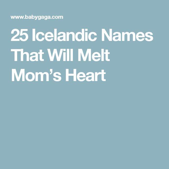 25 Icelandic Names That Will Melt Mom's Heart