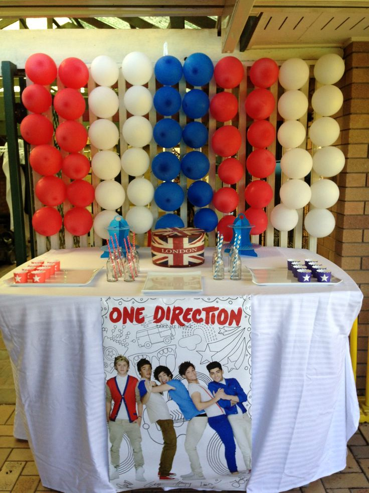One Direction Party :) for my niece