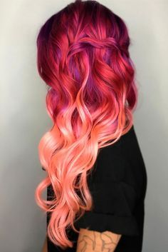 Fun Hairstyles for Pink Hair to Bring Changes in Life ★ See more: http://lovehairstyles.com/fun-hairstyles-pink-hair/
