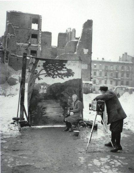 Varsóvia 1946 Foto por Michael Nash