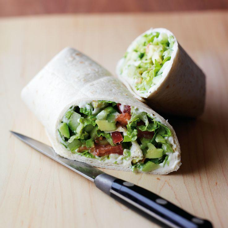 Avocado-Wrap mit Salsa Rezepte   Weight Watchers