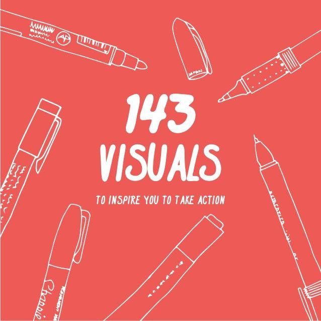 Un poquito de inspiración: 143 visuales de 50 autores diferentes