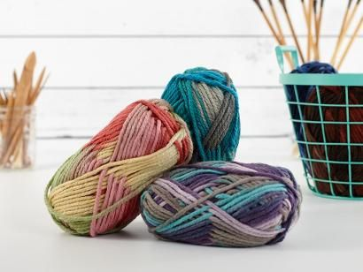 Shop Craftsy's premiere assortment of knitting supplies and save! Get the Bernat Softee Chunky Ombres Yarn before it sells out.