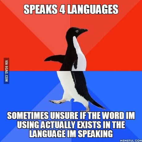 Any polyglots that also experience this problem?