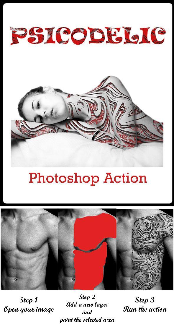 Psicodelic - Photo Effects Actions