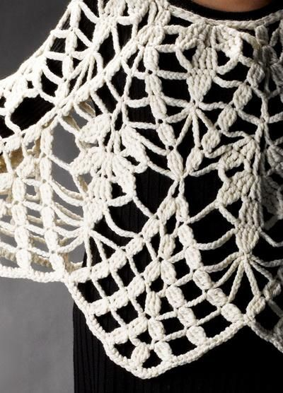 Crochet Chales: Amazing Ponchos Crochet para la Mujer