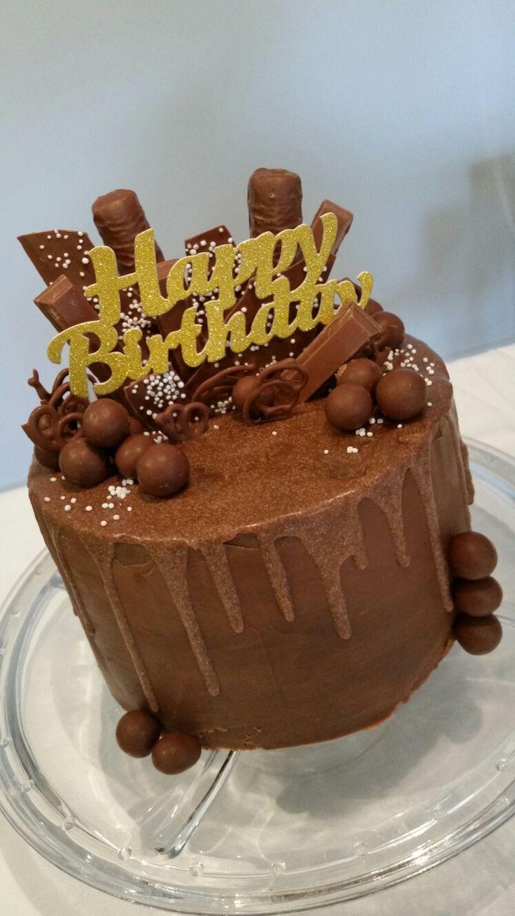 Birthday choc indulgence drip
