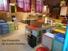 Aménagement de la classe chez Lau - école petite section