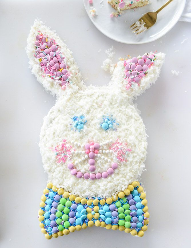 [this post is brought to you by M&M'S®! i've partnered with them to create a few recipes for their pinterest page, whichi'll share with you over the next few months! thank you so much for supporting the site.] I know guys. I know. Is the whole bunny cake thing terrifying? Or adorable? The question will …