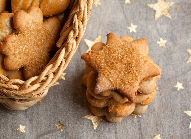 Сахарное печенье: рецепт без яиц