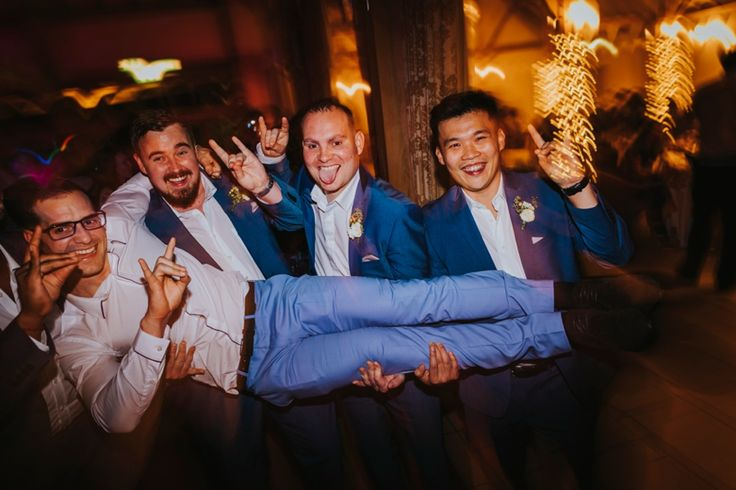 Classic groom photo. Photo by Benjamin Stuart Photography #weddingphotography #weddingday #weddingfun #lads #party #rockon #lift