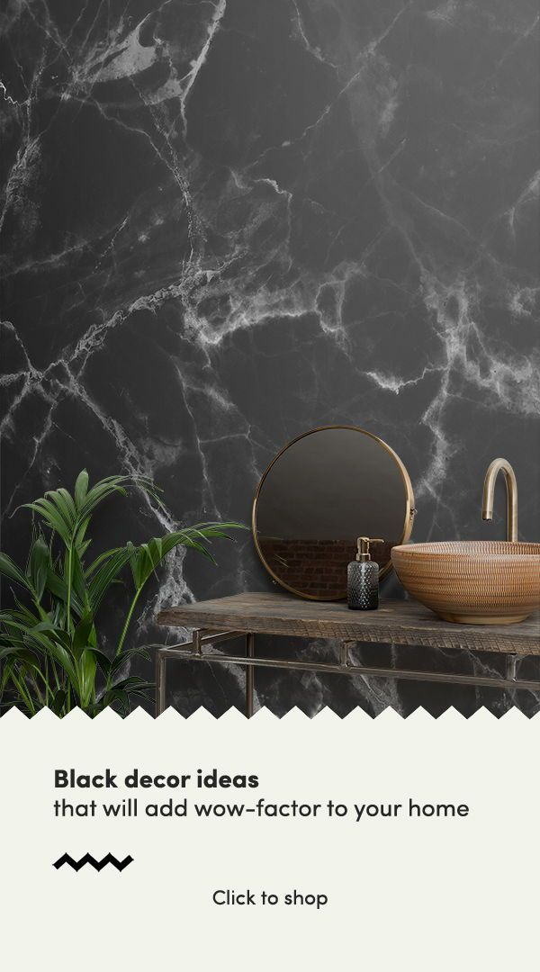 Black Marble Wallpaper Cool Marble Effect Muralswallpaper
