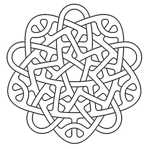 penta celtic knotwork