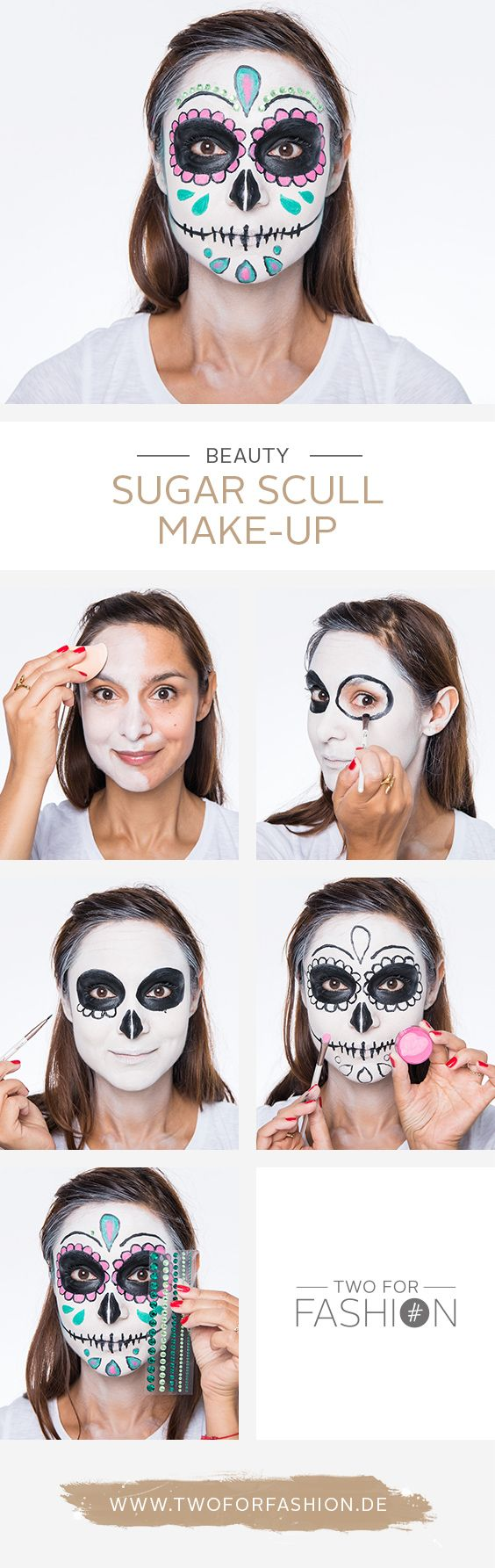 die besten 25 halloween skelett schminken ideen auf. Black Bedroom Furniture Sets. Home Design Ideas