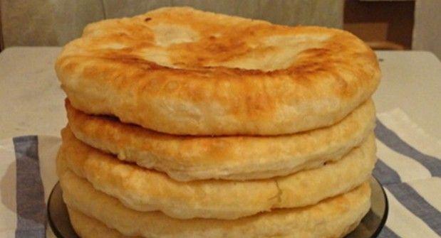 Пушистые лепешки на кефире: вкусно и быстро. С этим рецептом забудешь, что такое хлеб!