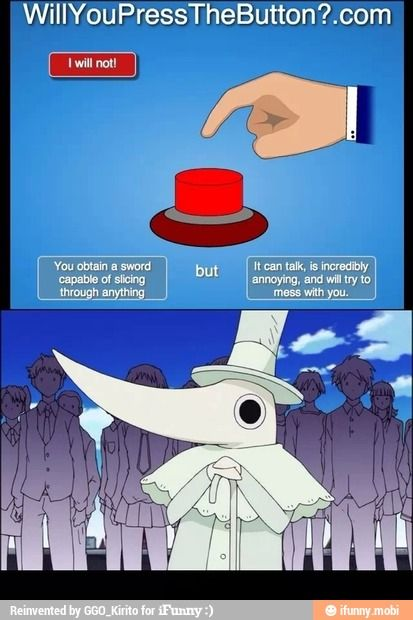 Soul eater : Excalibur. . For heaven's sake.. don't press that S: this reminds me of the Twelveth Kingdom