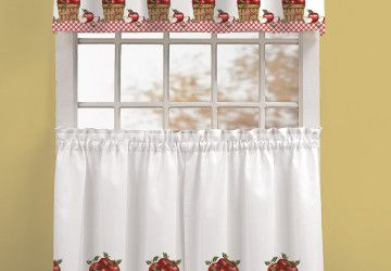 6 Fabulous Kitchen Valances And Curtains