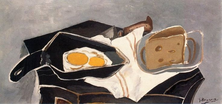 """Eggs on the Stove"", Georges Braque"
