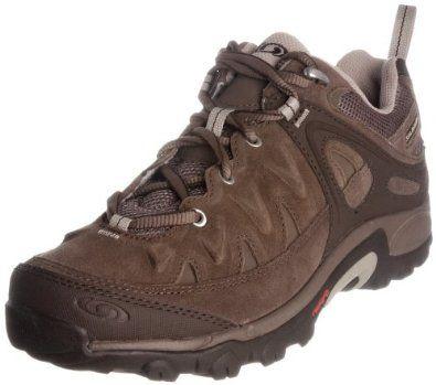 SALOMON Exit 2 Peak Ladies Walking Shoes, Brown, US5.5 Salomon. $92.73