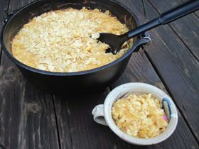 Dutch Oven Macaroni & Cheese