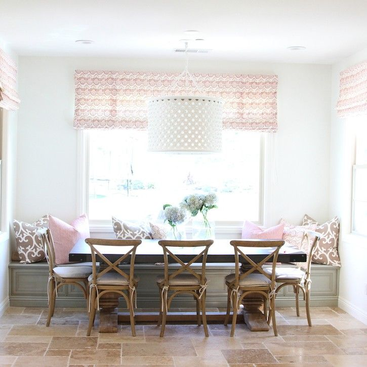 Love this dining room by Becki Owens (& the Arteriors Jarrod light!)