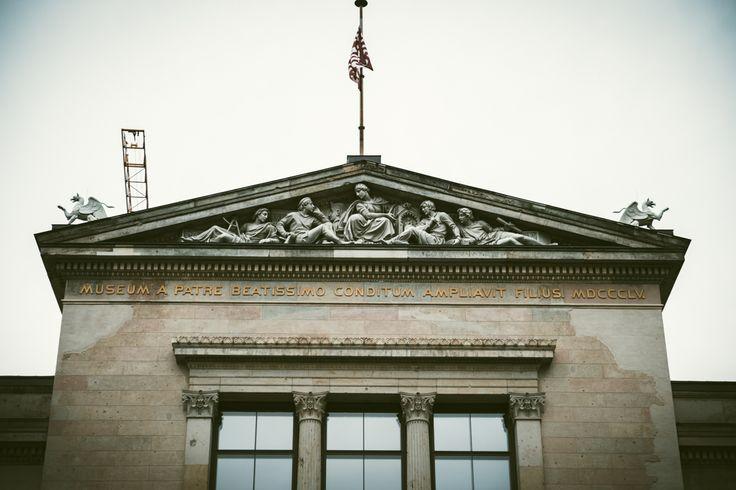 Fassade vom Neuen Museum (CC BY-NC-ND)