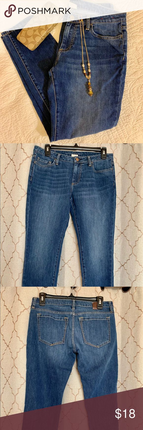 Banana Republic Ankle Jeans Light Wash Size 29P/S Ankle