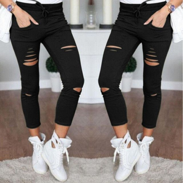 New Women Slim Yoga Pants Running Tights Low Waist Leggings Push Up Sexy Hip Solid Trousers Sportswear Fitness Leather Leggings