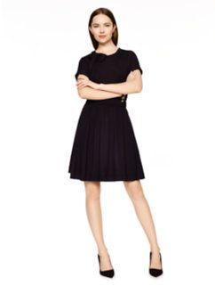 draped cotton jersey dress by kate spade new york