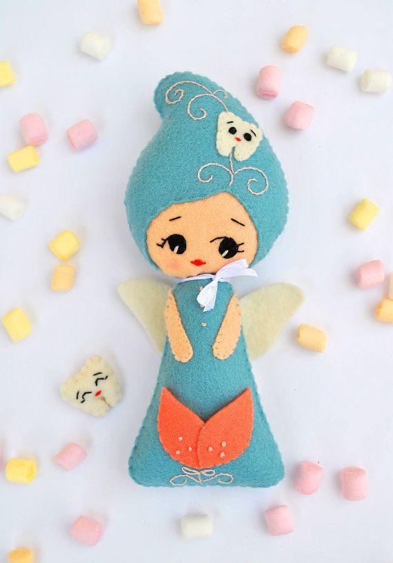 #felt #baby #tooth #fairy #pillow #noialand #minimez #etsy #nursery #cute