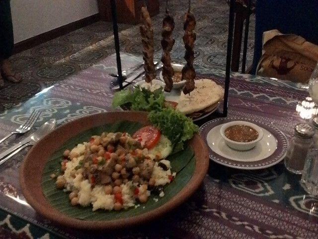 バリ島ウブドにある中東料理レストラン・ヤスミンです