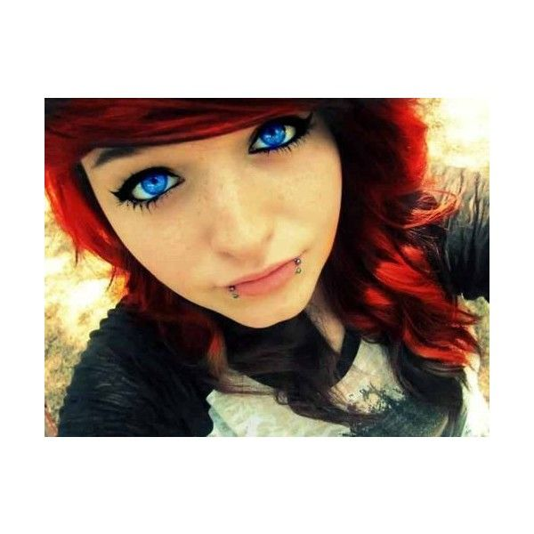 emo scene girl scene girls ❤ liked on Polyvore featuring hair, girls, people, hair styles and makeup