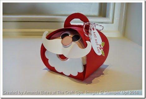 Ho Ho Ho! Curvy Keepsakes Santa. Created by Amanda Bates at The Craft Spa