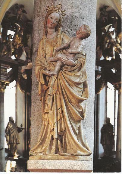 Madonna form Trebon (CZE) 15th cent. - form Česká gotika   Galerie.cz