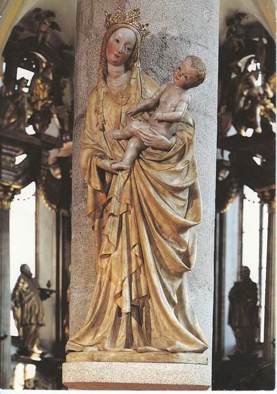 Madonna form Trebon (CZE) 15th cent. - form Česká gotika | Galerie.cz