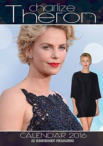 Charlize Theron Wall Calendar - 2016 Wall Calendars - Celebrity Calendars - Actor Calendars - Poster Wall Calendars - Monthly Wall Calendars