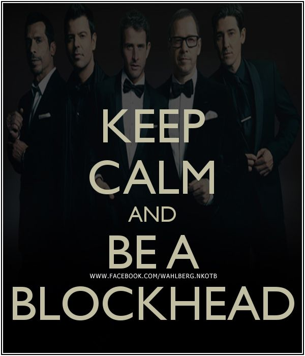 ♥ New Kids On The Block ♥ - Been a Blockhead since 1988!