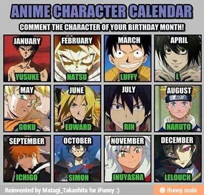 months anime