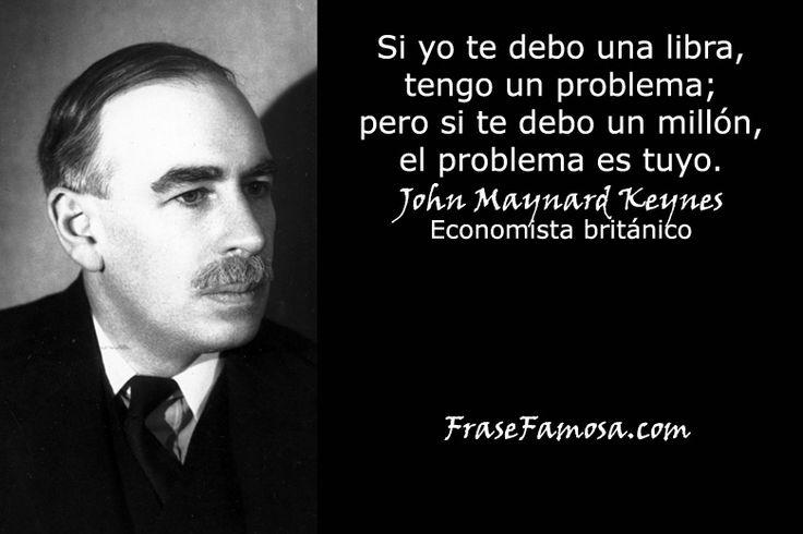 Frases de John Maynard Keynes Archivos - Frase Famosa