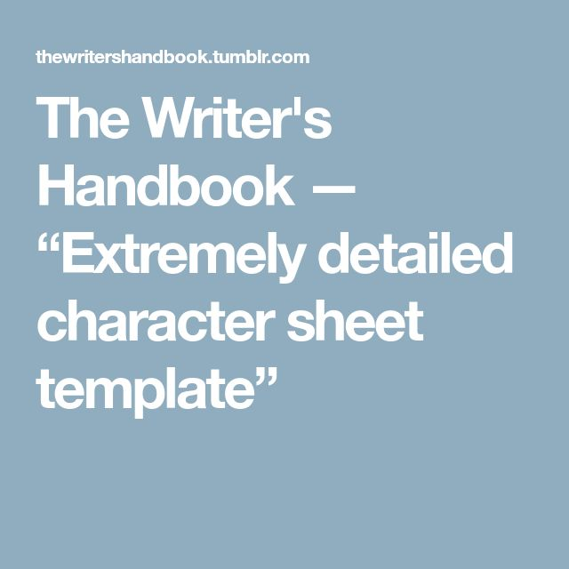 Best 25+ Character sheet writing ideas on Pinterest Character - reference sheet template