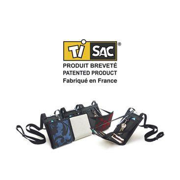 Le Ti Sac, un sac breveté made in France, qui surprend par sa contenance. Le Ti Sac se décline en de multiples collections, pour homme et femme, un véritable accessoire de mode pour qui veut conserver l'essentiel avec soi, ou voyager léger