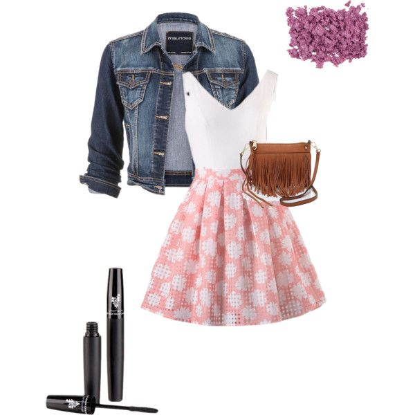 Spring Fling by shelby-wyatt on Polyvore featuring polyvore, beauty, Rebecca Minkoff and maurices