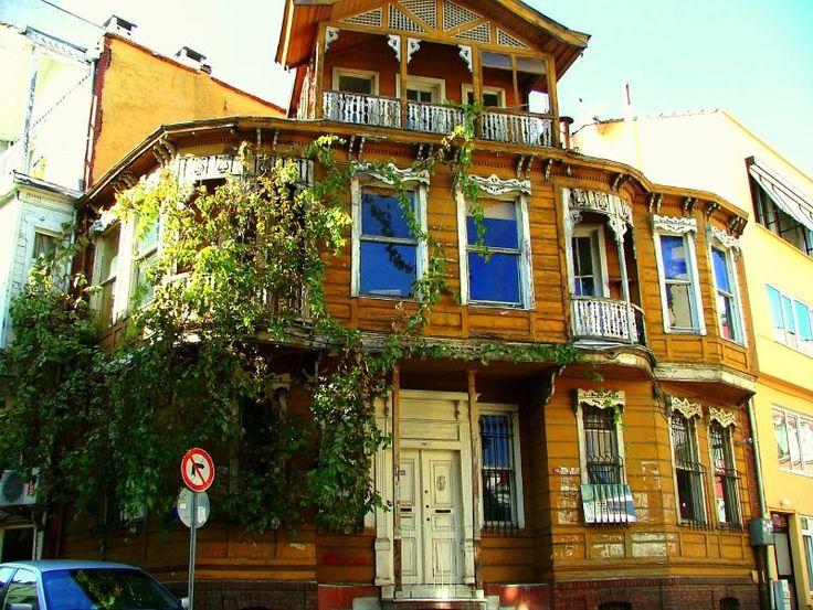 House in Arnavutköy Neighborhood, Istanbul, Turkey